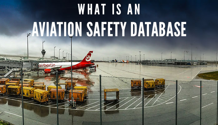What is an aviation safety database graphic